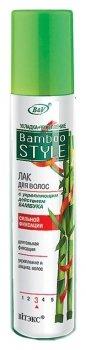 Лак для волос с укрепляющим действием бамбука суперсильной фиксации