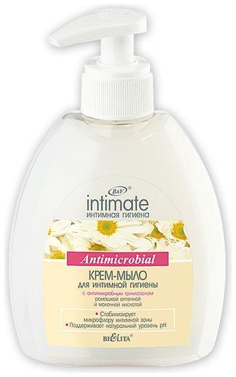 Крем-мыло для интимной гигиены с антимикробным триклозаном  Белита - Витекс