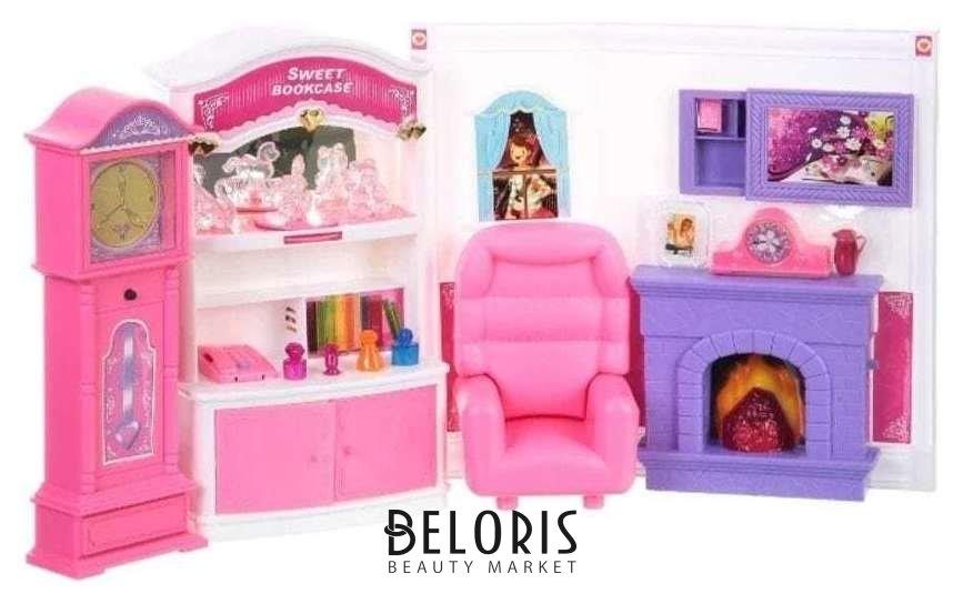 Набор мебели: комната с камином Уютный дом Play Smart (Joy Toy)