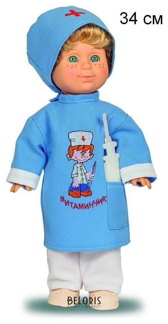 Кукла Митя доктор со звуковым устройством Весна Игрушки