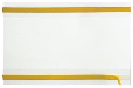 Карманы информационные самоклеящиеся PS-T, А4, горизонтальные, комплект 10 шт., ПЭТ, толщина 0,3 мм   КНР