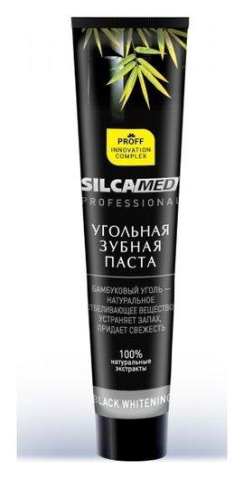 Зубная паста Professional Black Whitening  SILCA
