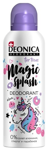 Дезодорант Magic Splash For teens  Deonica