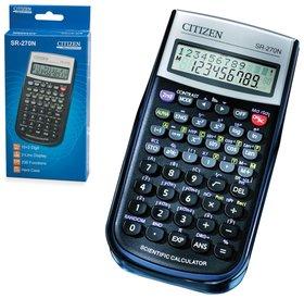 Калькулятор инженерный CITIZEN SR-270N (154х80 мм), 236 функций, 10+2 разряда, питание от батарейки, сертифицирован для ЕГЭ  Citizen