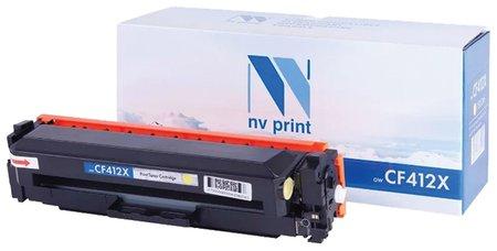 Картридж лазерный Nv Print (Nv-cf412x) для Hp M377dw/m452nw/m477fdn/m477fdw, желтый, ресурс 5000 стр.  Nv print
