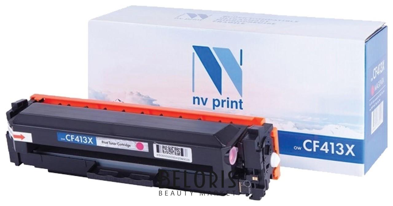 Картридж лазерный Nv Print (Nv-cf413x) для Hp M377dw/m452nw/m477fdn/m477fdw, пурпурный, ресурс 5000 стр. Nv print