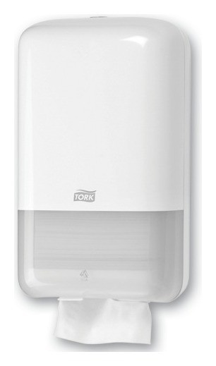Диспенсер для туалетной бумаги листовой Tork (Система T3) Elevation, белый  Tork