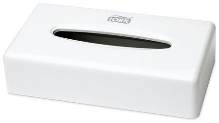 Диспенсер для косметических салфеток Tork (Система F1), настольный, белый  Tork