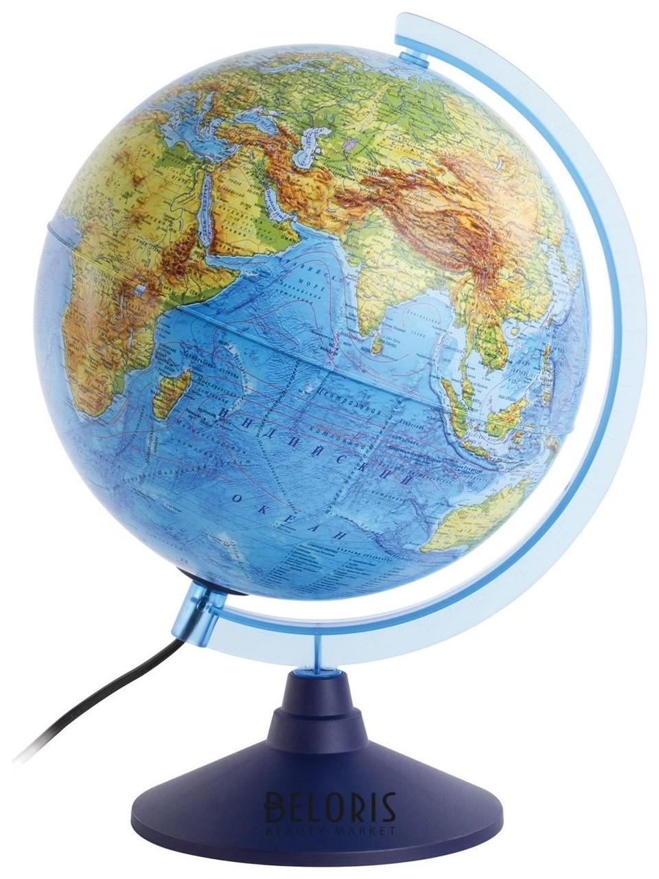 Глобус интерактивный физический/политический с подсветкой, масштаб 1:50 000 000 Globen