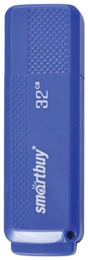 Флэш-диск 32 Gb, Smartbuy Dock, Usb 2.0, синий  Smartbuy