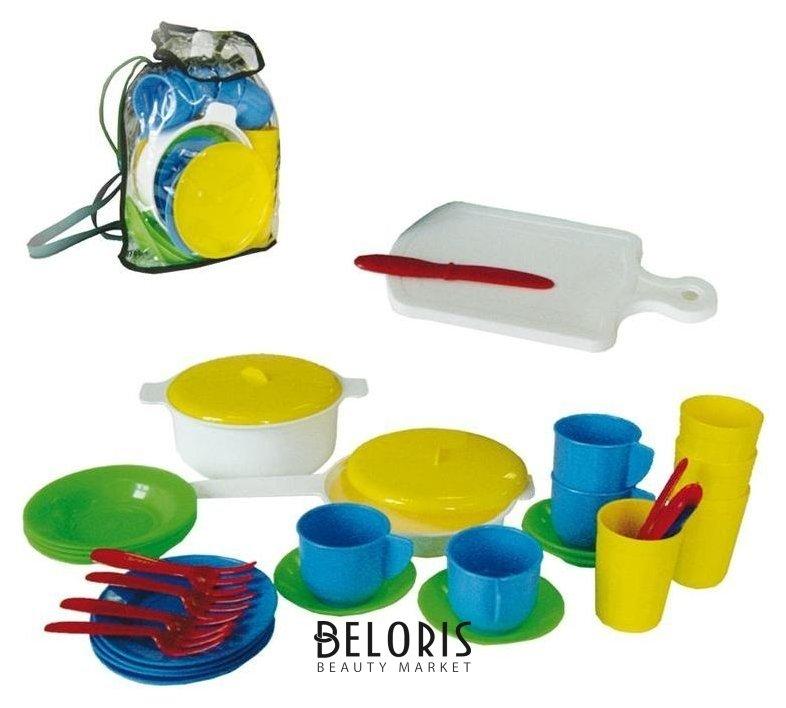 Детский кухонный набор в рюкзаке Стром