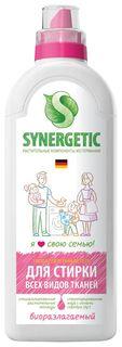 Средство для стирки всех видов тканей жидкое  Synergetic