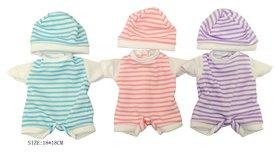 Одежда для куклы 3 вида в пакете 18*18 см