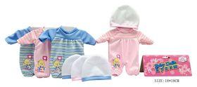 Одежда для куклы 4 вида в пакете 18*18 см