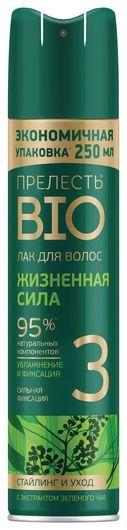 """Лак для волос с экстрактом зеленого чая """"Жизненная сила""""  Прелесть"""