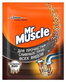 Средство для прочистки сливных тpуб всех видов  Mr. Muscle