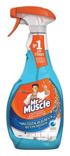 """Средство для мытья стекол и зеркал """"После дождя""""  Mr Muscle"""