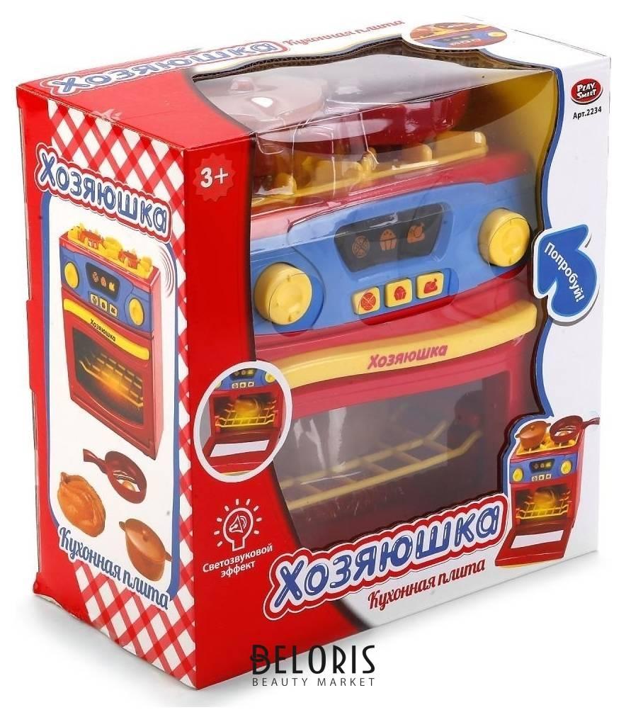 Плита электрическая с аксессуарами Хозяюшка (свет, звук) Play Smart (Joy Toy)