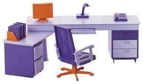 Мебель для кукол Мини-офис  Огонёк