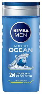 Гель для душа 2 в 1 Ocean Nivea
