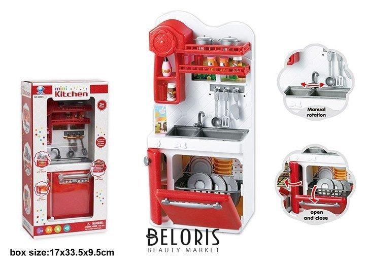 Кухонная мебель с раковиной и аксессуарами КНР Игрушки