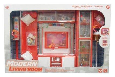 """Набор мебели """"Комната отдыха №3"""" (свет, звук)  КНР Игрушки"""