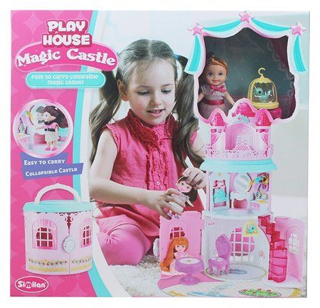 """Набор """"Волшебный домик в сумочке с куклой""""  Similan"""