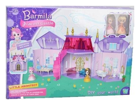 Дворец принцессы с куклами и мебелью  КНР Игрушки