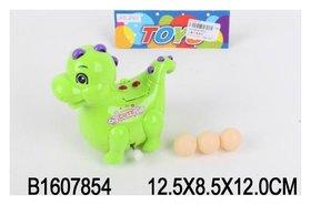 Игрушка заводная Динозаврик с яйцами