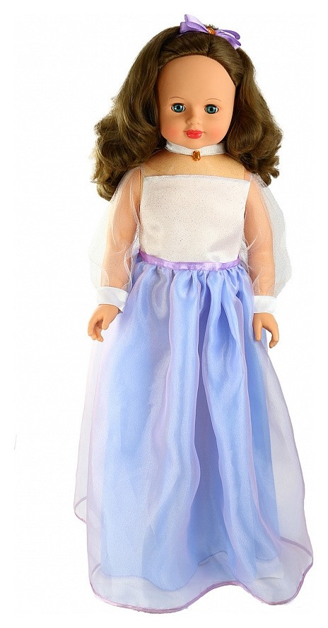 Снежана праздничная 3 (кукла пластмассовая озвученная)  Весна Игрушки