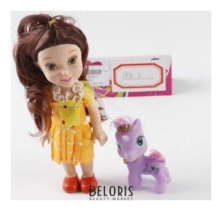 Набор Кукла с фиолетовым пони КНР Игрушки