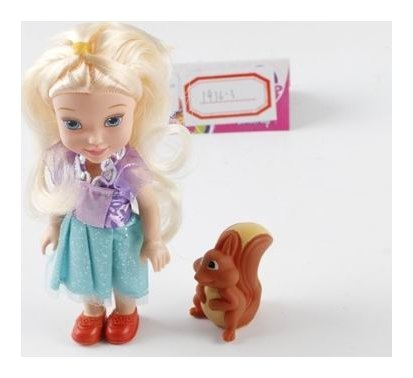 "Набор ""Кукла с белочкой""  КНР Игрушки"