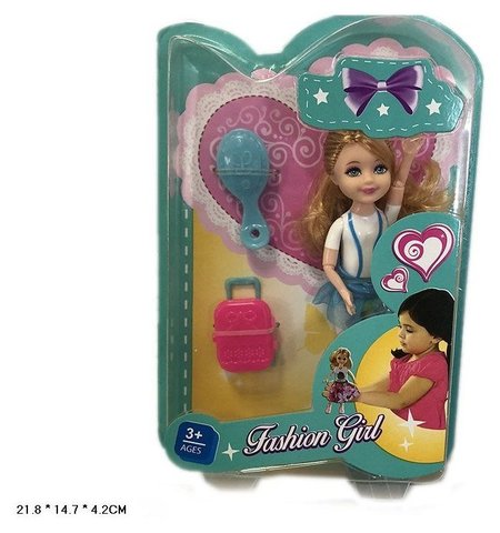 Куколка гибкая с аксессуарами  КНР Игрушки
