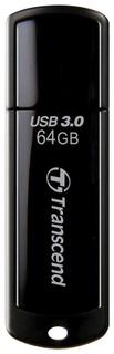 Флэш-диск 64 Gb Transcend Jetflash 700 Usb 3.0, черный   Transcend