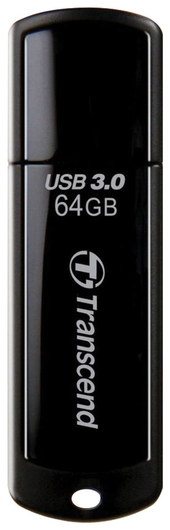 Флэш-диск 64 Gb Transcend Jetflash 700 Usb 3.0, черный   Transcend