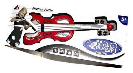 Скрипка детская со светом и звуком  КНР Игрушки