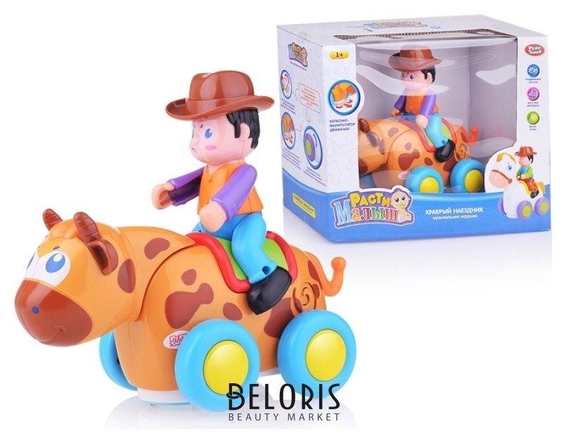 Интерактивная игрушка Храбрый наездник Play Smart (Joy Toy) Расти малыш