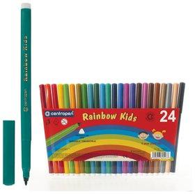 Фломастеры 24 цвета Rainbow Kids  Centropen