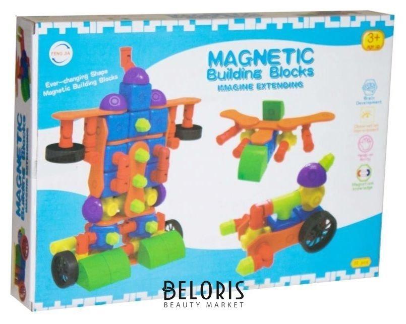Конструктор Magnetic Building Blocks 36 деталей Feng Jia