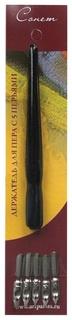 Перья, набор 5 шт., с держателем  Невская палитра