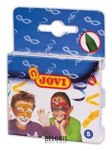 Грим для лица, 5 цветов, пигментированный воск, картонная упаковка Jovi