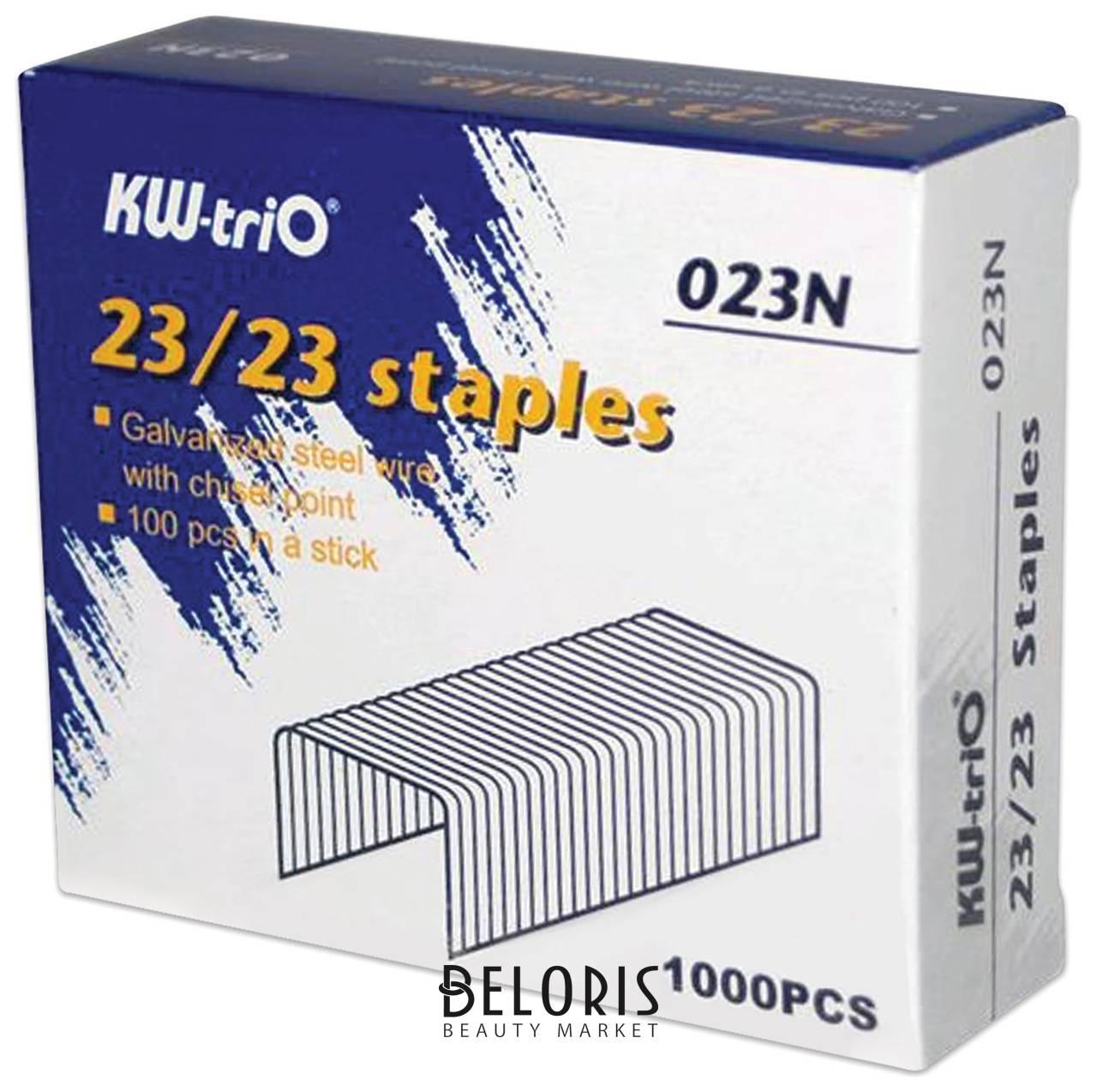 Скобы для степлера №23/23, до 200 листов Kw-trio