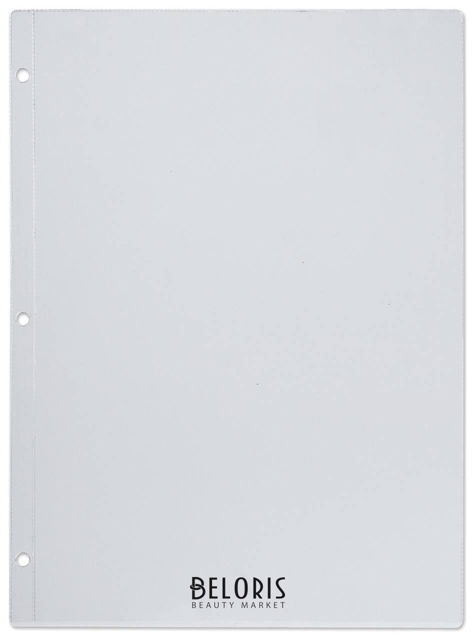 Папки-файлы перфорирированные, А4, для меню, 3 отверстия (между отверстиями 108 мм), 120 мкм Dps Kanc