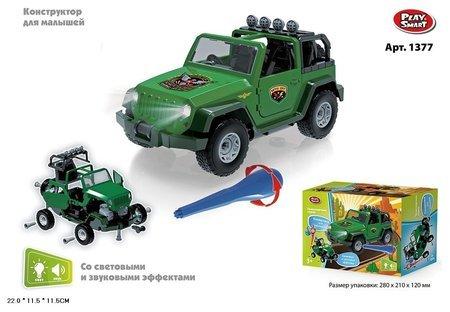 Конструктор Машина внедорожник  Play Smart (Joy Toy)