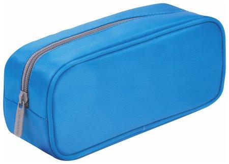 "Пенал-косметичка, мягкий, ""King Size Blue"", 20х8х9 см  Brauberg"