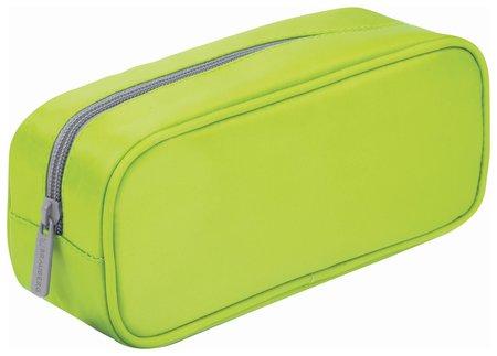 "Пенал-косметичка, мягкий, ""King Size Neon Green"", 20х8х9 см  Brauberg"