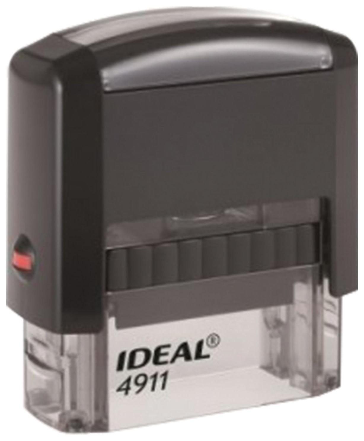 Оснастка для штампа, размер оттиска 38х14 мм синий, Trodat Ideal 4911 P2, подушка в комплекте  Trodat
