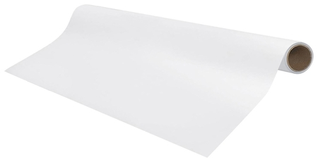 Доска-панель маркерная самоклеящаяся, белая в рулоне (45х100 см)  Brauberg