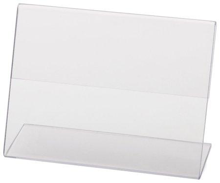 Держатели для ценников, 80х60 мм, комплект 10 шт., оргстекло Brauberg