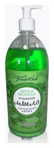 Жидкое мыло кухонное Мята и Мелисса FreshWeek